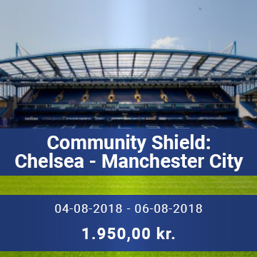Travel Sense A/S - Chelsea - Manchester City