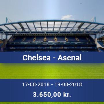 Travel Sense A/S - Chelsea - Asenal