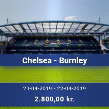 Travel Sense A/S - Chelsea - Burnley
