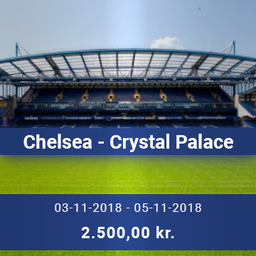 Travel Sense A/S - Chelsea - Crystal Palace