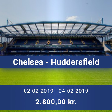 Travel Sense A/S - Chelsea - Huddersfield