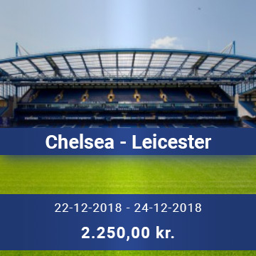 Travel Sense A/S - Chelsea - Leicester