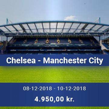Travel Sense A/S - Chelsea - Manchester-City