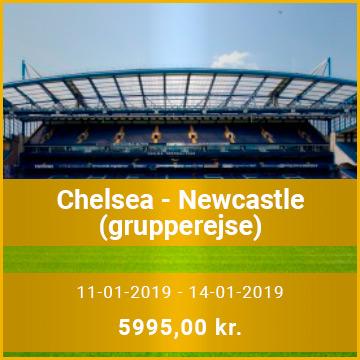 Travel Sense A/S - Chelsea - Newcastle