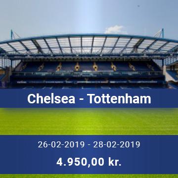 Travel Sense A/S - Chelsea - Tottenham