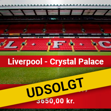 Travel Sense A/S - LIVERPOOL - CRYSTAL PALACE