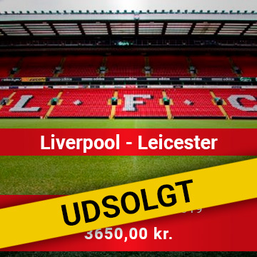 Travel Sense A/S - LIVERPOOL - LEICESTER