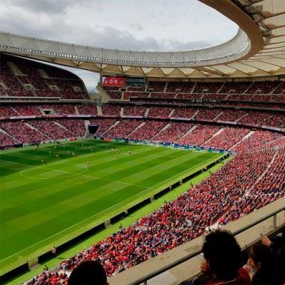 Fodboldrejse til Atletico Madrid på Wanda Metropolitan