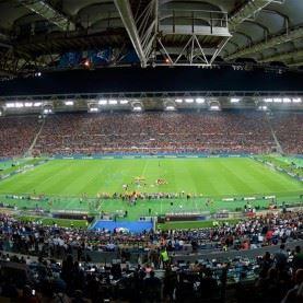 Fodboldrejse til AS Roma på Stadio Olympico