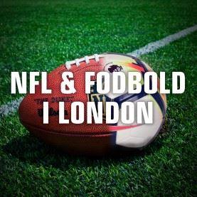 NFL og fodboldrejse til London!
