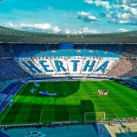 Fodboldrejse til Hertha Berlin - Werder Bremen på Olympiastadion