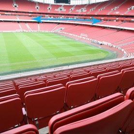 Fodboldrejser til Arsenal på Emirates Stadium.