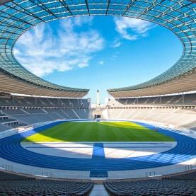 Fodboldrejse til Hertha Berlin - Leverkusen på Olympiastadion