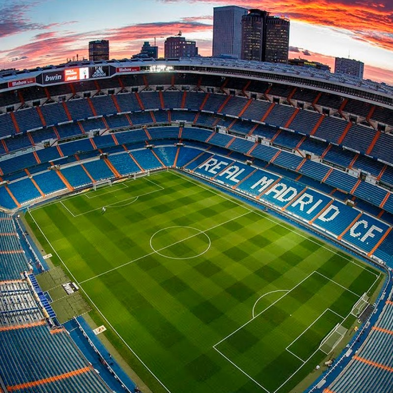 Fodboldrejse til Real Madrid på Santiago Bernabeu