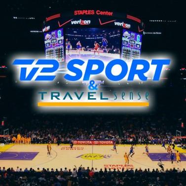 Få den ultimative NBA-oplevelse sammen med TV 2 Sport og Travel Sense.
