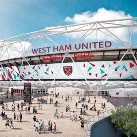 Fodboldrejse til West Ham på London Stadium