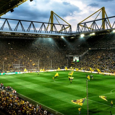 Fodboldrejse til Dortmund på Signald Iduna Park
