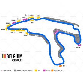 Belgiens Grand Prix 2018 (Inkl. fly)