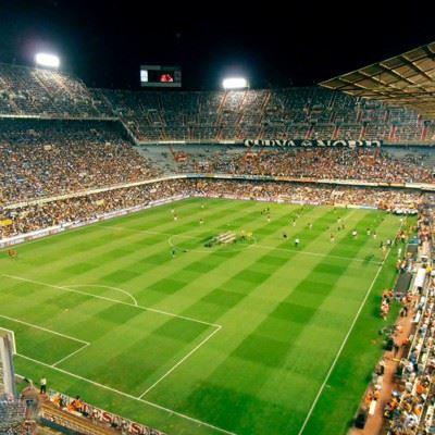 Fodboldrejse til Valencia på Mestalla
