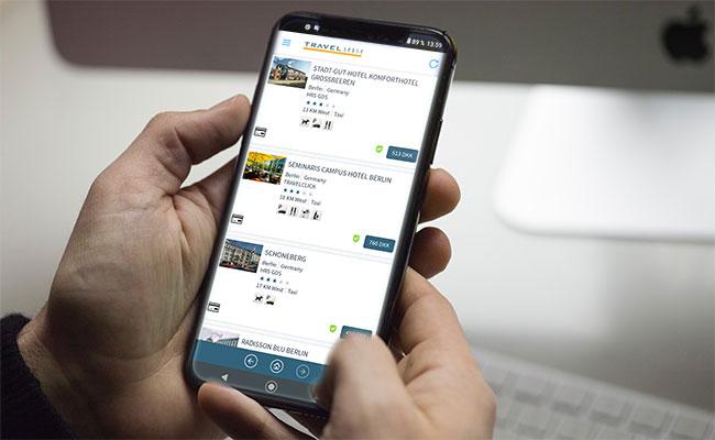 Travel Sense specialdesigner digitale løsninger til fx tilmelding værelsesfordeling og rejse-apps.