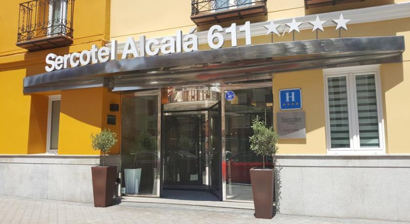 Hotel Sercotel Alcala 611 - Fodboldrejser Barcelona Madrid