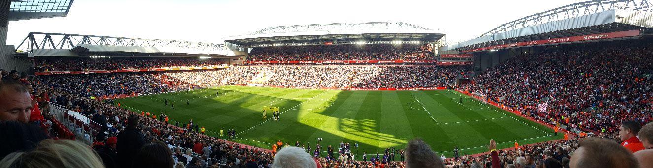 Fodboldrejser Liverpool - Stadion udsigt - Beat Lounge